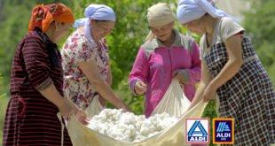 ALDI Nord und ALDI SÜD zertifizierte Baumwolle