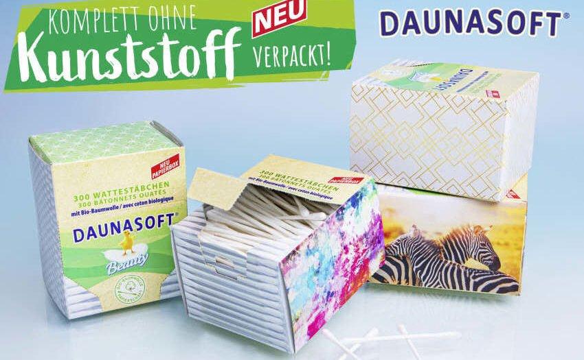 NORMA DAUNASOFT-Wattestäbchen plastikfrei