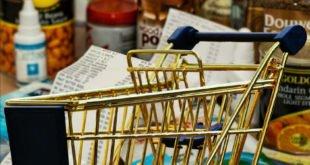 Abstands-Durchsage für Lebensmitteleinzelhandel