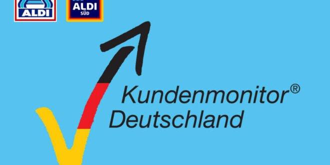 ALDI ist top sagt der Kundenmonitor 2020