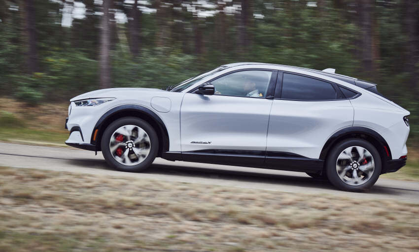 Vollelektrisch - Ford Mustang Mach-E