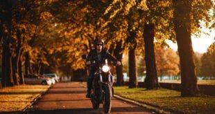 Motorradfahren im Herbst - Aber sicher
