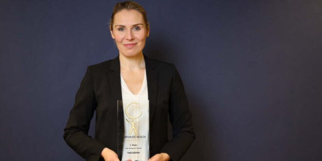 TARGOBANK - Corporate Health Award 2020