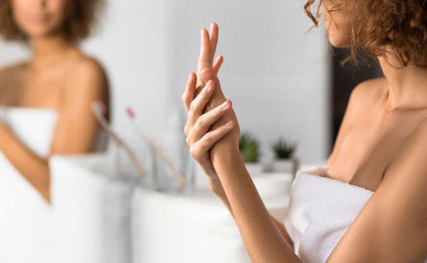 Hanföl hilft bei trockenen Händen