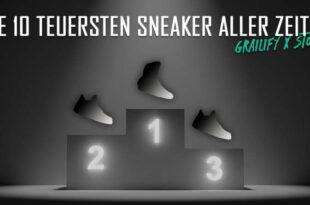 Die zehn teuersten Sneakers-Paare