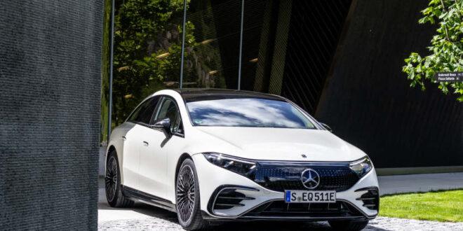 EQS - das erste Elektrofahrzeug in der Luxusklasse