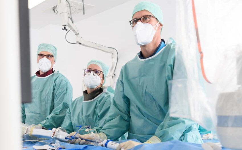 Innovative Technologie im Herzkatheter-Labor